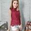 เสื้อลูกไม้งานสไตส์เกาหลีมีซับใน น่ารักๆไฮโซสุดๆ thumbnail 10