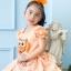 Lovely Owl Dress ชุดเดรสเด็กสีส้ม thumbnail 3