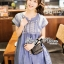 Lady Sweet Effortless Embroidered Denim Dress L152-65C03 thumbnail 3