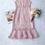 Dress Pink Embroidery Lace Lady Sweet thumbnail 7