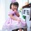 Butterfly Princess Dress ชุดเดรสเด็กสีม่วง thumbnail 1