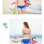 SM-V1-290 ชุดว่ายน้ำแฟชั่น คนอ้วน เด็ก ดารา thumbnail 5