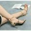 รองเท้าส้นเข็มสูง4นิ้วสไตล์แบรนด์ดัง thumbnail 1