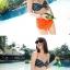 SM-V1-274 ชุดว่ายน้ำแฟชั่น คนอ้วน เด็ก ดารา thumbnail 10