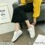 รองเท้าผ้าใบ Style converse ผ้าลูกไม้ทอ ประกายวิ้งค์ๆ thumbnail 6