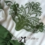 DR-LR-264 Lady Joanne Sweet Vintage Embroidered Olive Green Dress thumbnail 9