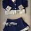 DS-PP-048 Lady Gisele Chic Brocade Jacket and Shorts Set thumbnail 7
