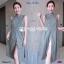 Set 2 ชิ้น เสื้อตัวยาวคอปีน แขนกุดผ่าหน้า ผ้าพิมพ์ลายไทย thumbnail 2