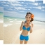 SM-V1-153 ชุดว่ายน้ำแฟชั่น คนอ้วน เด็ก ดารา thumbnail 3