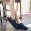 รองเท้าผ้าใบแฟชั่นแพลตฟอร์ม ทำจากผ้าใบสีทูโทนสดใสด้านนอก-ใน thumbnail 7