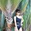SM-V1-213 ชุดว่ายน้ำแฟชั่น คนอ้วน เด็ก ดารา thumbnail 7