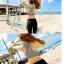 SM-V1-499 ชุดว่ายน้ำขายาว สปอร์ตบรา ลายสีขาวดำ เซ็ต 3 ชิ้น (บรา+บิกินี่+กางเกงขายาว) thumbnail 5