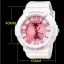 Poca Watch S SPORT นาฬิกาข้อมือ ดิจิตอล สายยาง ผู้หญิง เท่ๆ กันน้ำได้- Po LadySw-GP92WP (White/Pink) (รหัส 2iG9tvX) thumbnail 2