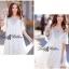 DR-LR-222 Temperley London Giovanna Embellished White Tunic Dress thumbnail 4