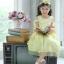 Star Princess Dress ชุดเดรสเด็กสีเหลือง thumbnail 3