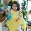 Star Princess Dress ชุดเดรสเด็กสีเหลือง thumbnail 1