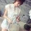 Abigail Pretty and Sexy White Lace Mini Dress L216-65C04 thumbnail 9
