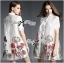 Lady Claire Flower Embroidered Organza and Cotton Shirt Dress L201-75C11 thumbnail 10