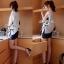 DR-LR-093 Lady Eve Smart Minimal Chic Mini Dress thumbnail 4