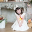 Chicken Dress ชุดเดรสเด็กสีครีม thumbnail 1