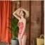 ชุดว่ายน้ำวันพีช สีแดงอมส้ม สวย thumbnail 9