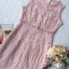Dress Pink Embroidery Lace Lady Sweet thumbnail 9