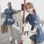 DR-LR-101 Lady Marissa Modern Country Denim Shirt Dress thumbnail 2