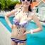 SM-V1-055 ชุดว่ายน้ำแฟชั่น คนอ้วน เด็ก ดารา thumbnail 1