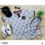 Set 2 ชิ้น Gucci 2 ชิ้น เสื้อแขนสั้น จั้มปลาย แต่งขอบ thumbnail 7