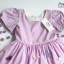 Butterfly Princess Dress ชุดเดรสเด็กสีม่วง thumbnail 8