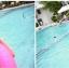 SM-V1-132 ชุดว่ายน้ำแฟชั่น คนอ้วน เด็ก ดารา thumbnail 2
