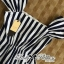 Lady Jenny '50s Style Mixed Striped Dress thumbnail 7