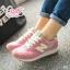 รองเท้าผ้าใบแฟชั่น N เย็บแต่งโลโก้ด้านข้าง thumbnail 7
