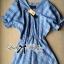 DR-LR-096 Lady Eugene Baby Blue Bohemian Dress thumbnail 18