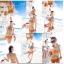SM-V1-281 ชุดว่ายน้ำแฟชั่น คนอ้วน เด็ก ดารา thumbnail 5