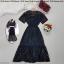 Maxi dress เดรสยาว งานสองชิ้นนะค ด้านในเป็นเดรสสายเดี่ยวยืดยืดนิ่ม thumbnail 3