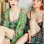 ชุดว่ายน้ำ วันพีช สีเขียวสวย ขายพร้อมเสื้อคลุมผ้าชีฟอง thumbnail 4