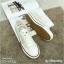 รองเท้าผ้าใบ Style converse ผ้าลูกไม้ทอ ประกายวิ้งค์ๆ thumbnail 2