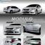 ชุดแต่งรอบคัน Honda Civic 2014 (4 ชิ้น)