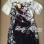 DR-LR-285 Lady Ashley Mysterious Wicked Girl Print Dress thumbnail 10