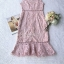 Dress Pink Embroidery Lace Lady Sweet thumbnail 8