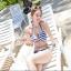 SM-V1-103 ชุดว่ายน้ำแฟชั่น คนอ้วน เด็ก ดารา thumbnail 4