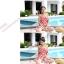 SM-V1-239 ชุดว่ายน้ำแฟชั่น คนอ้วน เด็ก ดารา thumbnail 3