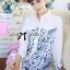 DR-LR-242 Lady Lara Summer Floral Print Shirt Dress thumbnail 2