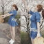 DR-LR-101 Lady Marissa Modern Country Denim Shirt Dress thumbnail 4