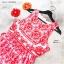 Maxi Dress เดรสแขนกุดยาว D&G เข้ารูปกระโปรงยาวทิ้งตัวสวย thumbnail 7