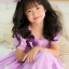 Butterfly Princess Dress ชุดเดรสเด็กสีม่วง thumbnail 2