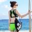 SM-V1-591 ชุดว่ายน้ำสไตล์สปอร์ต เสื้อกล้ามสีดำตัดขอบเขียว กางเกงขาสั้นสีเขียวสดใส thumbnail 9