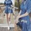 DR-LR-101 Lady Marissa Modern Country Denim Shirt Dress thumbnail 6