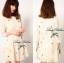 ASOS PETITE Exclusive Geometry Stitch Mini Dress L129-75E07 thumbnail 1